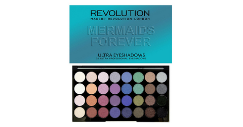 Ultra Eyeshadow Mermaids Forever Palette 2016 Collection paleta 32 cieni 20g