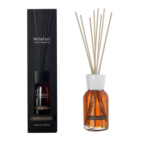 Natural Fragrance Diffuser pałeczki zapachowe Vanilla and Wood