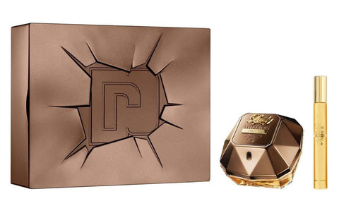 Paco Rabanne Lady Million Prive zestaw woda perfumowana spray 80ml + miniatura wody perfumowanej spray 10ml