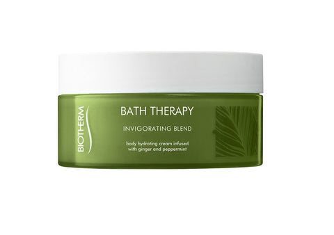 Biotherm Bath Therapy Invigorating Blend Hydrating Cream krem do pielęgnacji ciała Ginger & Peppermint 200ml