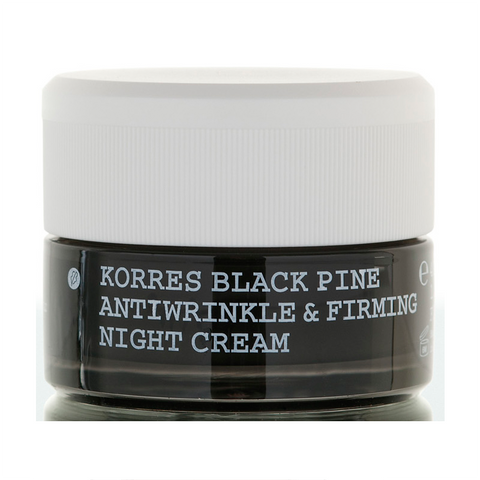 Black Pine Antiwrinkle, Firming & Lifting Night Cream All Skin Types ujędrniający krem przeciwzmarszczkowy na noc z wyciągiem z czarnej sosny 40ml
