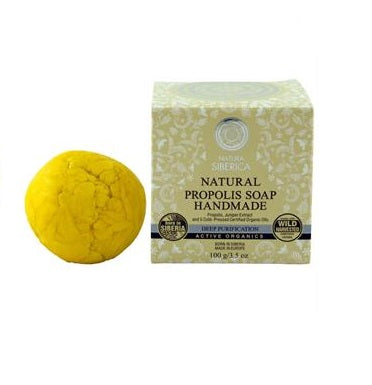 Siberica Professional Natural Propolis Soap Handmade naturalne ręcznie robione mydło propolisowe 100g