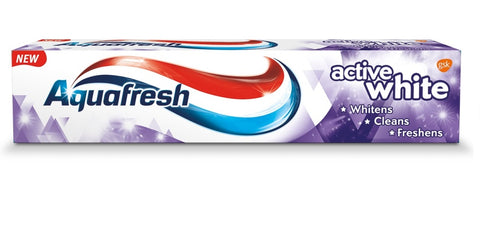 Aquafresh Active White Toothpaste pasta do zębów 125ml