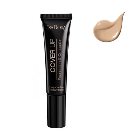 Isadora Cover Up Foundation & Concealer podkład i korektor w jednym 62 Nude Cover 35ml