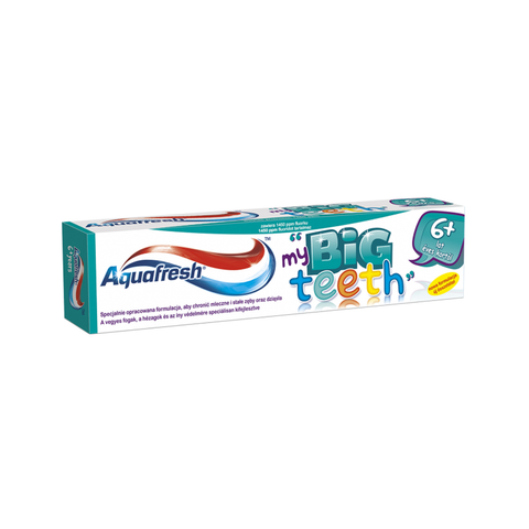 Aquafresh Big Teeth Toothpaste pasta do zębów 50ml