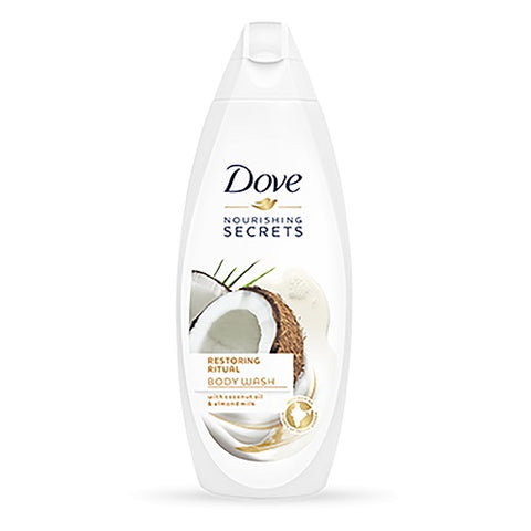 Dove Nourishing Secrets Restoring Ritual Body Wash żel pod prysznic Coconut Oil & Almond Milk 250ml