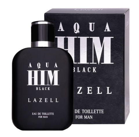 Lazell Aqua Him Black For Men woda toaletowa spray 100ml