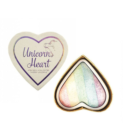 Unicorns Heart A Rainbow Highlighter rozświetlacz do twarzy