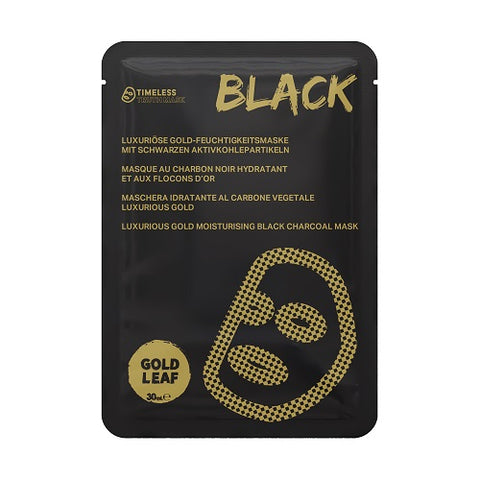 Timeless Truth Mask Luxurious Gold Hydrating Black Charcoal Mask luksusowa nawilżająca maseczka węglowa 30ml