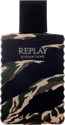 Replay Signature Men woda toaletowa spray 100ml