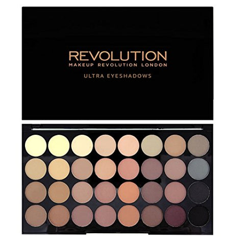 Ultra Eyeshadows Flawless Matte paleta 32 cieni 16g