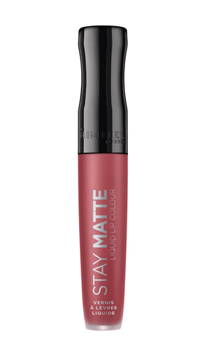 Rimmel Stay Matte Liquid Lip Colour matowa szminka w płynie 220 Fatal Kiss 5,5ml