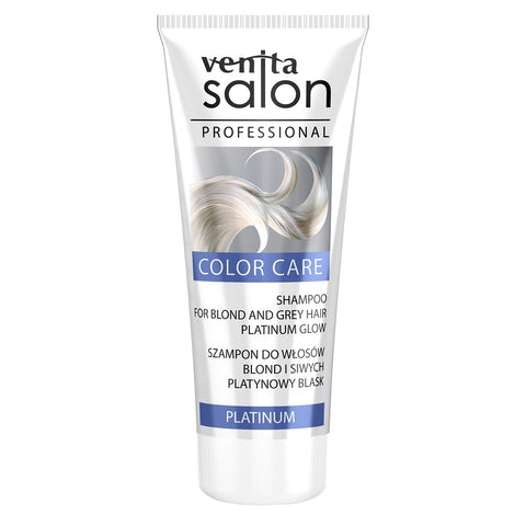 Venita Salon Professional Color Care szampon do włosów blond i siwych Platinium 200ml