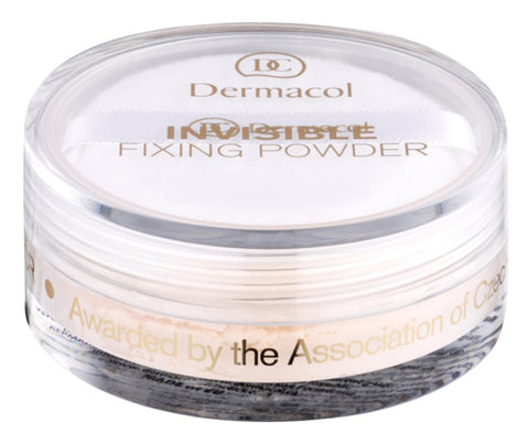 Dermacol Invisible Fixing Powder utrwalający puder transparentny Light 13g