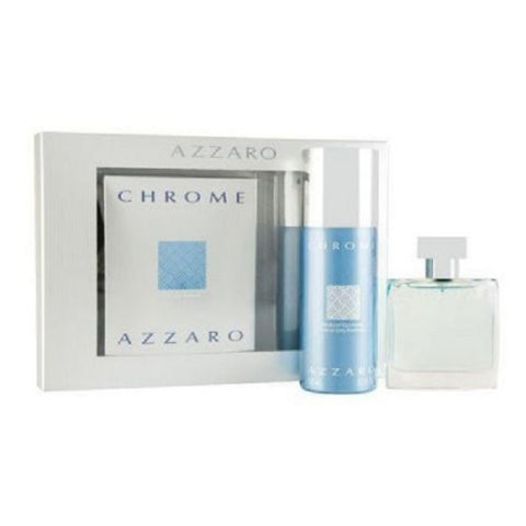 Azzaro Chrome zestaw woda toaletowa spray 100ml + dezodorant spray 150ml