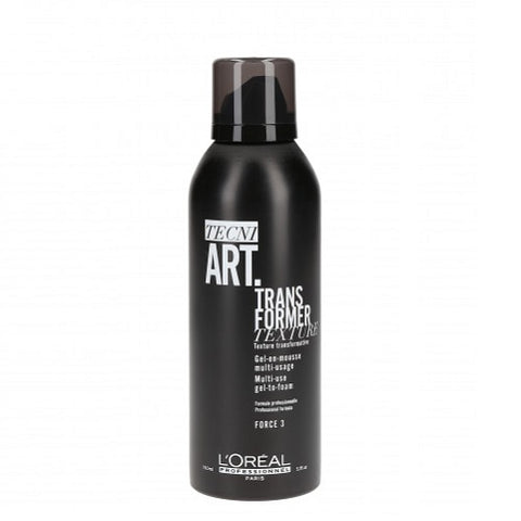 L'Oreal Professionnel Tecni Art Transformer Texture Multi-Use Gel-To-Foam wielozadaniowy żel do włosów Force 3 150ml