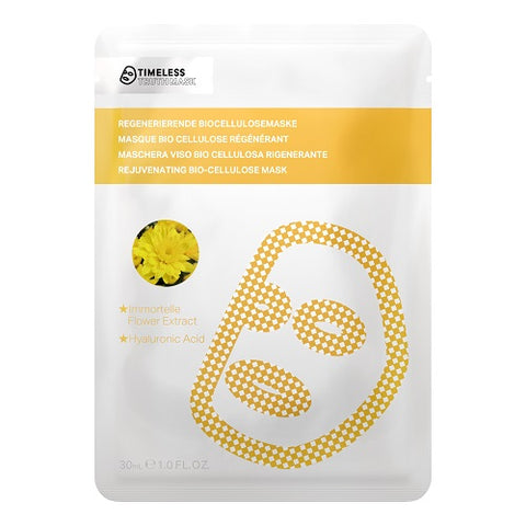 Timeless Truth Mask Immortelle Herbal Rejuvenation Bio Cellulose Mask odmładzająca maseczka z biocelulozy Ekstrakt Kwiatowy 30ml