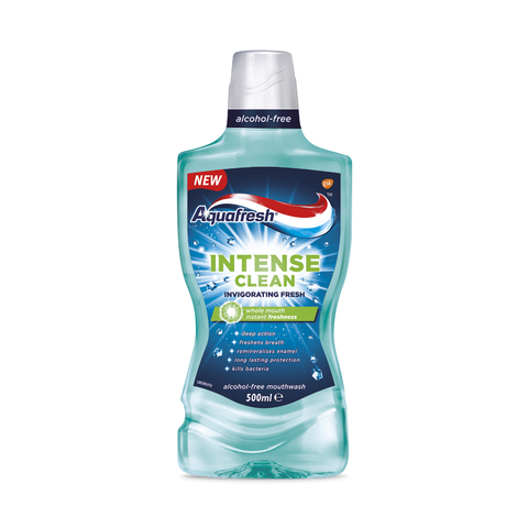 Aquafresh Intense Clean Invigorating Fresh Mouthwash płyn do płukania jamy ustnej 500ml