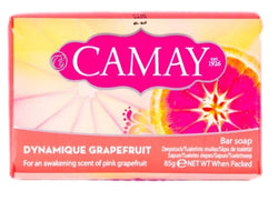 Camay Bar Soap mydło w kostce Dynamique Grapefruit 85g