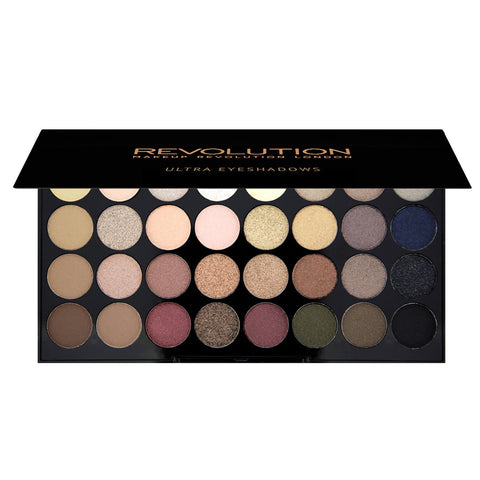 Ultra Eyeshadows Flawless paleta 32 cieni 16g