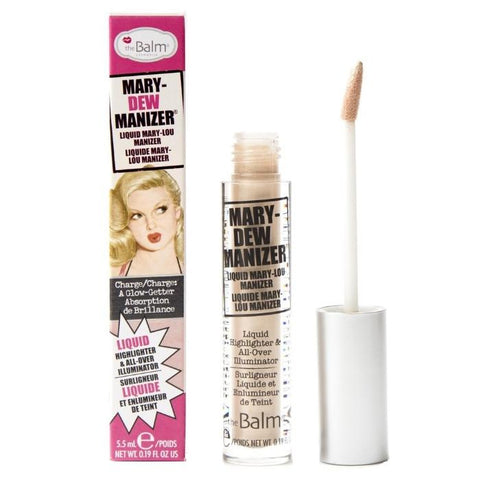 The Balm Mary - Dew Manizer Liquid Highlighter rozświetlacz w płynie 5.5ml