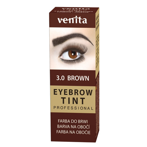 Venita Professional Eyebrow Tint farba do brwi w proszku 3.0 Brown