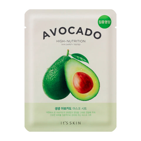 It's Skin The Fresh Mask Sheet Avocado maska do twarzy z wyciągiem z awokado 20ml