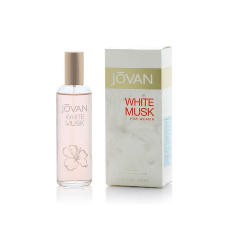 Jovan White Musk For Women  woda kolońska spray 96ml