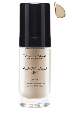 Pierre Rene Advanced Lift Fluid Foundation podkład liftingujący SPF15 04 Light Beige 30ml