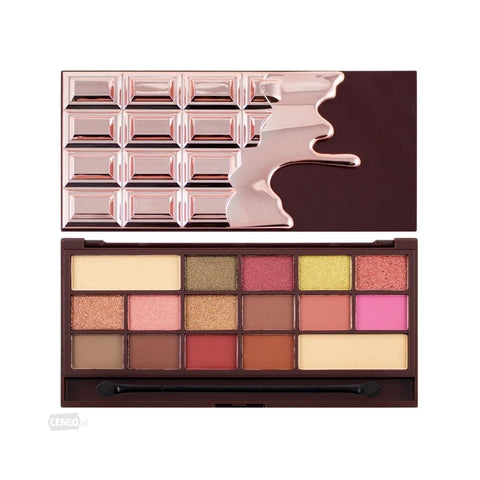 Chocolate Rose Gold paleta 16 cieni 22g