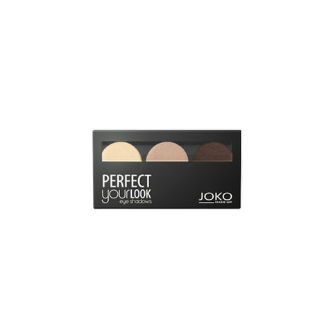 Joko Make-Up Perfect Your Look Eye Shadows cienie do powiek trio satin 300 1szt