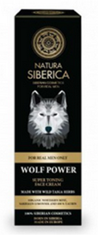 Siberica Professional Men Wolf Power Super Toning Face Cream tonizujący krem do twarzy 50ml