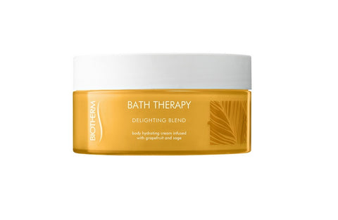 Biotherm Bath Therapy Delighting Blend Hydrating Creme krem nawilżający do ciała Grapefruit & Sage 200ml