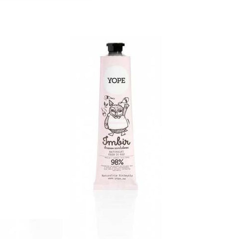 Yope Hand Cream krem do rąk Ginger & Sandalwood Tree 100ml