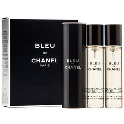 Chanel Bleu de Chanel twist and spray woda toaletowa spray z wymiennym wkładem 3x20ml