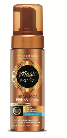Bronze Magic brązująca pianka do ciała Light Skin 150ml