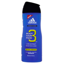 Adidas 3in1 Body Hair Face żel pod prysznic 400ml