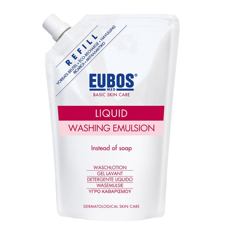 Eubos Basic Skin Care Liquid Washing Emulsion Refill emulsja do mycia ciała zapachowa zapas 400ml