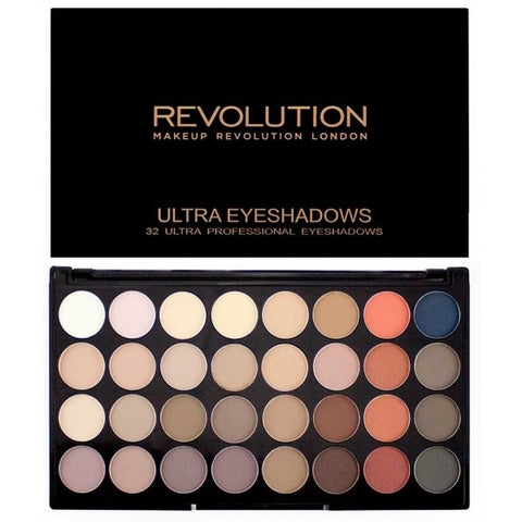 Ultra Eyeshadow Flawless Matte 2 paleta 32 cieni 20g