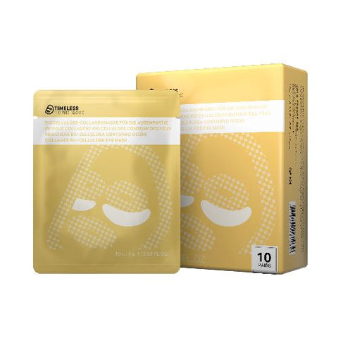 Timeless Truth Mask Anti-Aging Collagen Bio Cellulose Eye Mask kolagenowa maseczka pod oczy 10x10ml