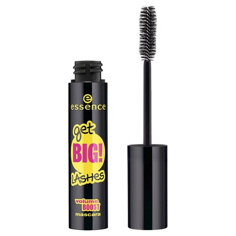 Essence Get Big Lashes Volume Boost Mascara tusz pogrubiający do rzęs Black 12ml