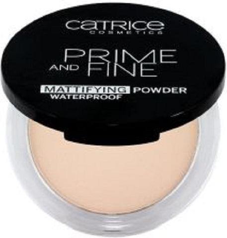 Prime And Fine Mattifying Powder Waterproof puder w kompakcie