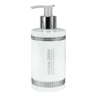 Vivian Gray White Crystals Luxury Cream Soap mydło w płynie 250ml