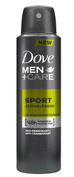 Dove Men+Care Sport Active+Fresh antyperspirant spray 150ml