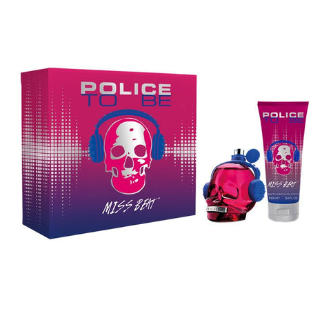 To Be Miss Beat zestaw woda perfumowana spray 75ml + balsam do ciała 100ml