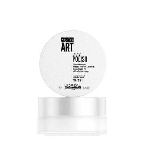 L'Oreal Professionnel Tecni Art Fix Polish Compact Wax-In-Gel żel w wosku z karmelem 75ml