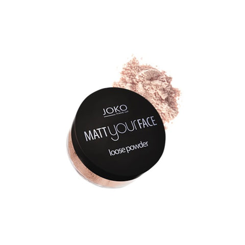 Joko Make-Up Matt Your Face Loose Powder matujący puder sypki 20 Transparent 23g