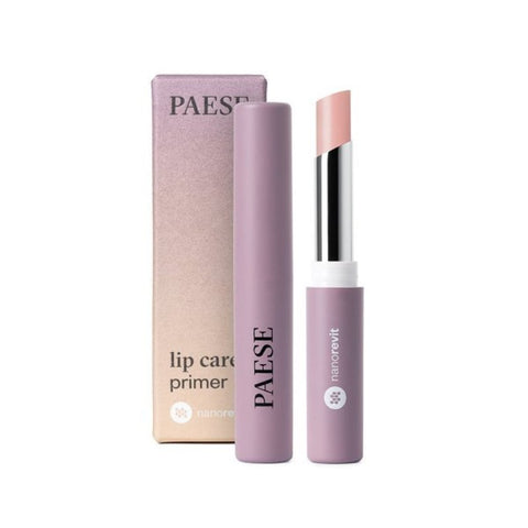 Nanorevit Lip Care Primer pielęgnująca pomadka do ust 40 Light Pink 2.2g