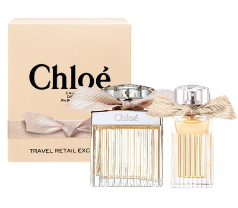 Chloe Chloe Travel Retail Exclusive zestaw woda perfumowana spray 75ml + miniatura wody perfumowanej spray 20ml