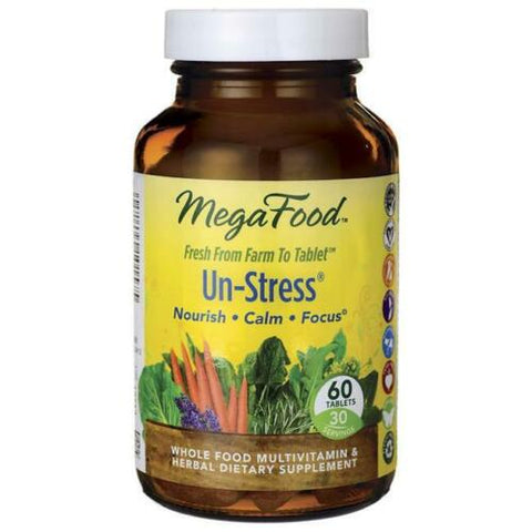 Mega Food Un-Stress na stres suplement diety 60 tabletek